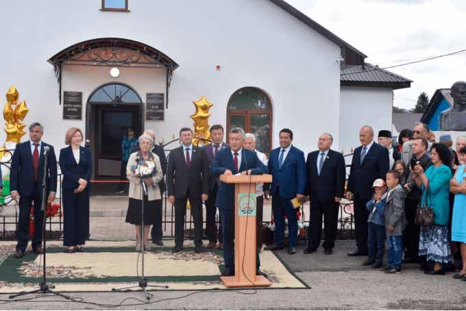 Открытие музея поэта Фатиха Карима